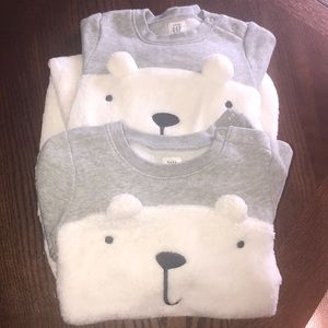 NWOT soft set of two gap size 18-24 month outfit